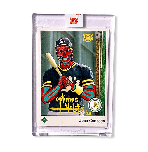 Jose Canseco upper deck 1989 Oakland Athletics