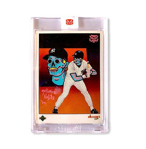 Don Mattingly Upper deck 1989 New York Yankees