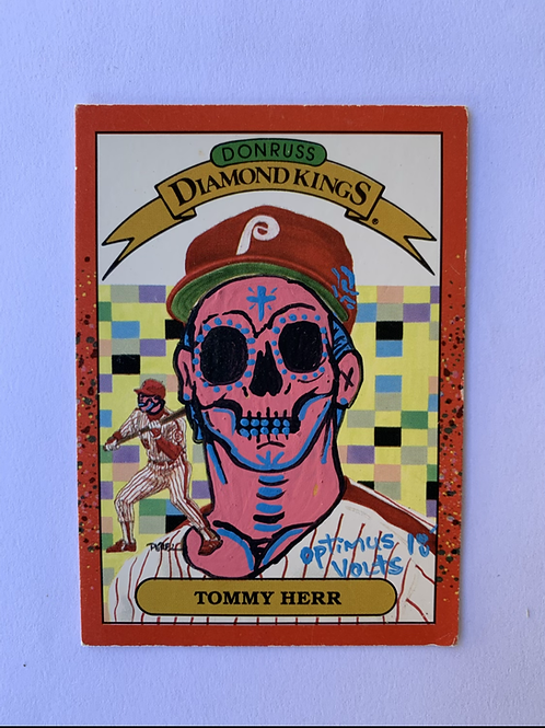 Tommy Herr Donruss 1989 Philadelphia Phillies