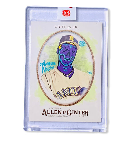 Ken Griffey Jr. Topps Allen & Ginter 2017 1/1 Seattle Mariners