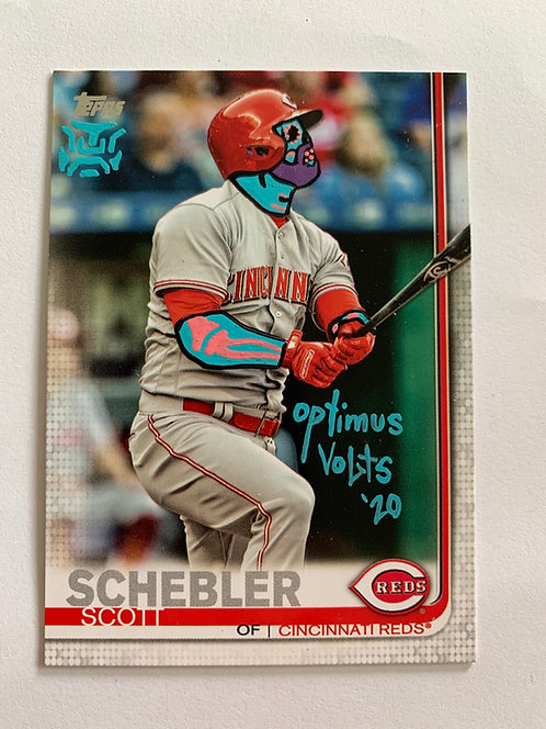 Scott Schebler Topps 2019 Cincinnati Red