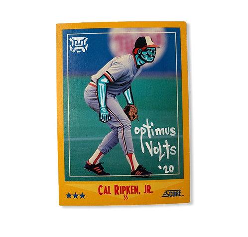 Cal Ripken Jr. Score 1988 Baltimore orioles