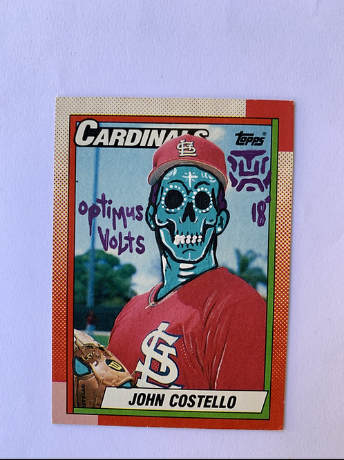 John Costello Topps 1990 St. Louis Cardinals