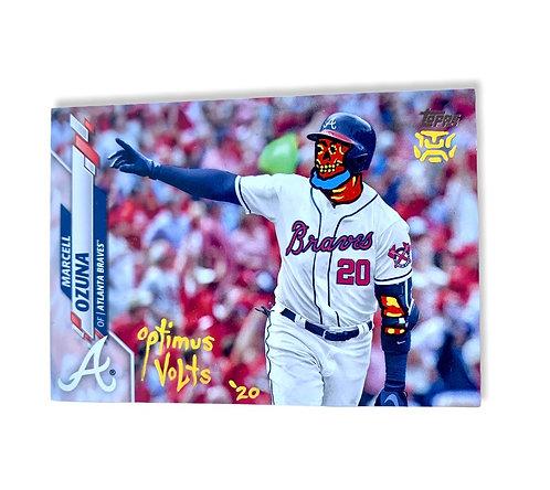 Marcell Ozuna Topps 2020 Atlanta Braves