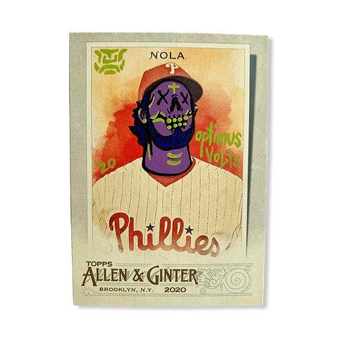 Aaron Nolan Topps 2020 Allen & Ginter Philadelphia Phillies