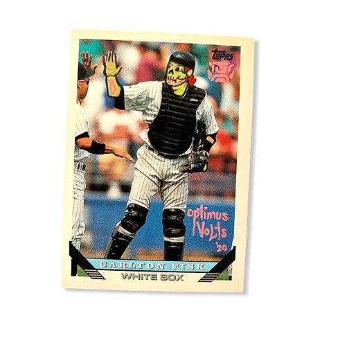 Carlton Fisk Topps 1993 Chicago White Sox