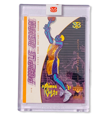 Kobe Bryant upper deck 2001 Los Angeles Lakers