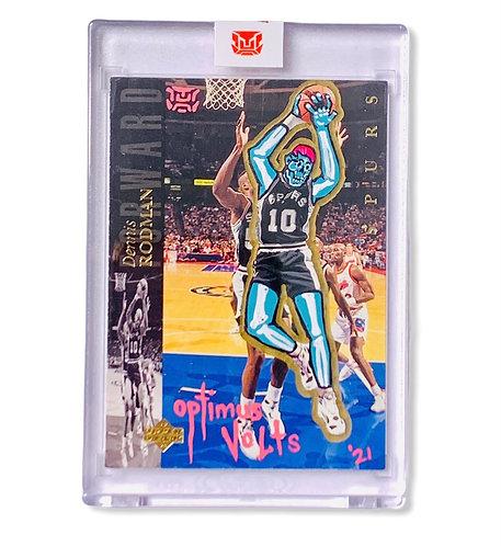 Dennis Rodman 1/1 upper deck 1994 San Antonio Spurs
