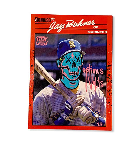 Jay Buhner Donruss 1990 Seattle Mariners