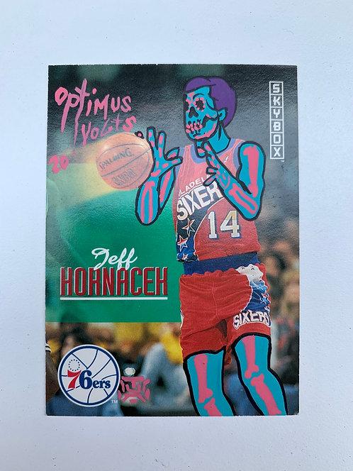 Jeff Hornacek skybox 1993 Philadelphia 76ixers