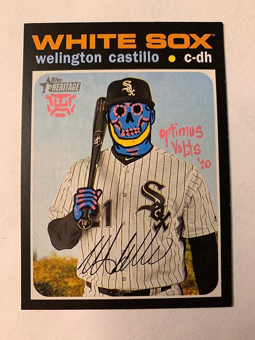Welington Castillo Topps 2020 Heritage Chicago White Sox