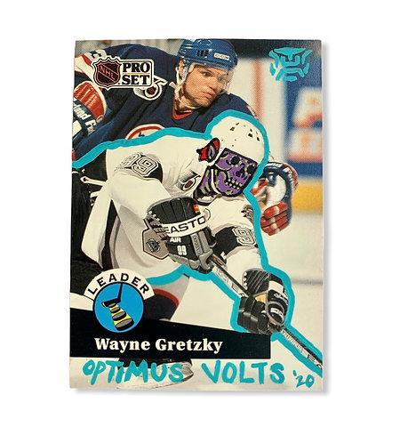 Wayne Gretzky Pro Set 1991 Los Angeles kings