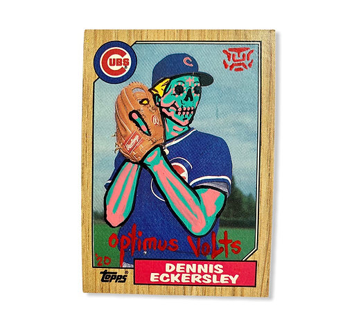 Dennis Eckersley Topps  1987 Chicago cubs