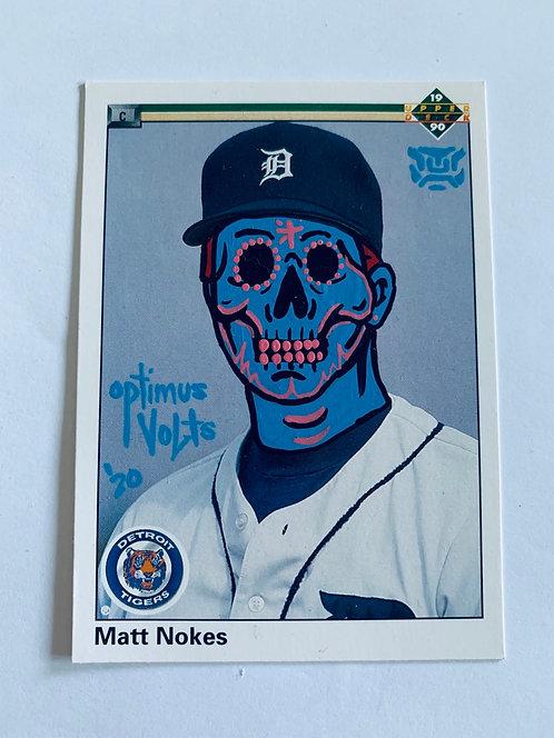 Matt Nokes upper deck 1990 Detroit Tigers