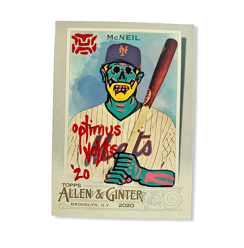 Jeff McNeil Topps 2020 Allen & Ginter New York Mets