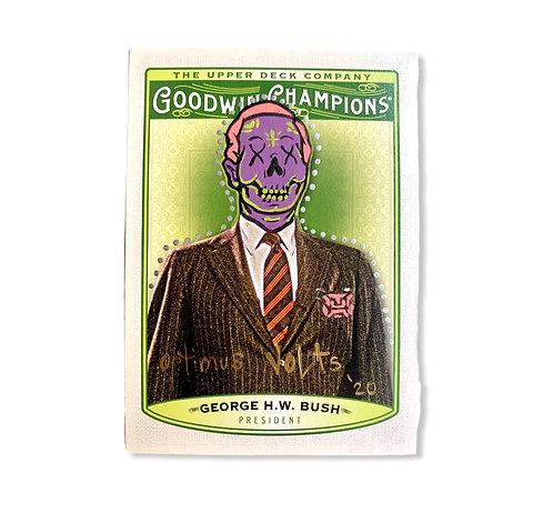 George H.W. Bush Upper deck 2019 goodwin champions