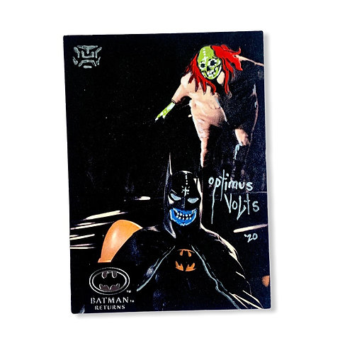 Batman returns with penguin Topps stadium club 1992