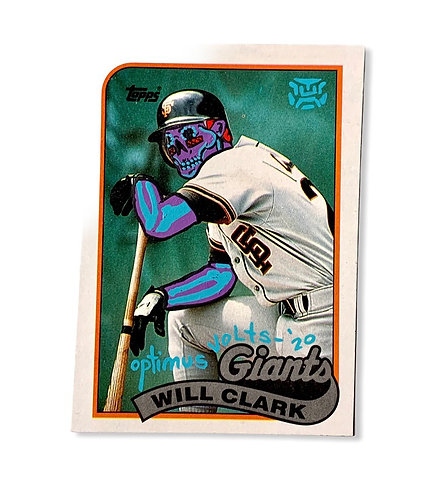 Will Clark Topps San Francisco Giants