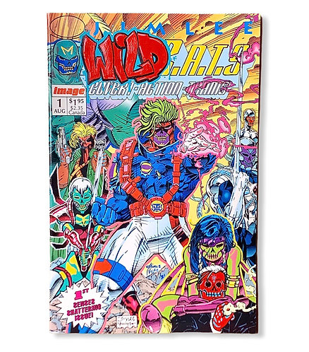 Jim Lee WildC.A.T.S #1 Image comics 1/1