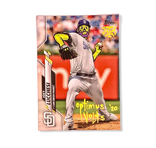 Joey Lucchesi Topps 2020 San Diego Padres