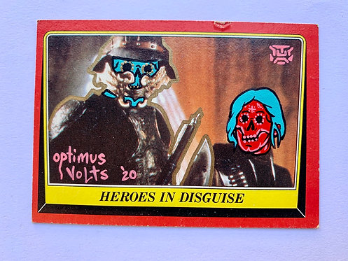 Star Wars return of the Jedi Euros in disguise Topps 1983