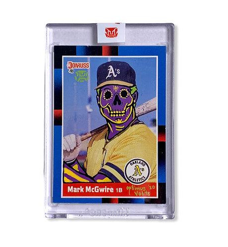 Mark McGwire Donruss 1988 Oakland Athletics
