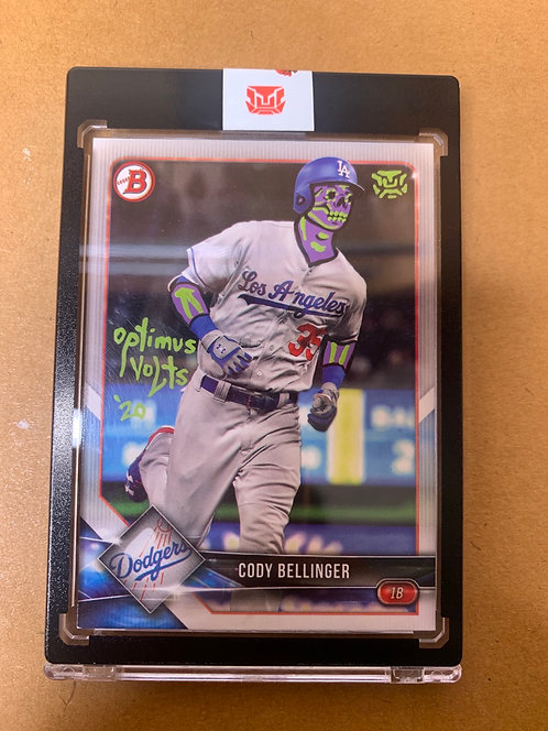 Cody Bellinger Topps bowman 2018 Los Angeles dodgers