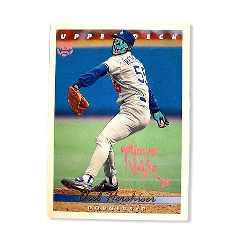 Oral Hershiser Upper deck 1993 Los Angeles Dodgers
