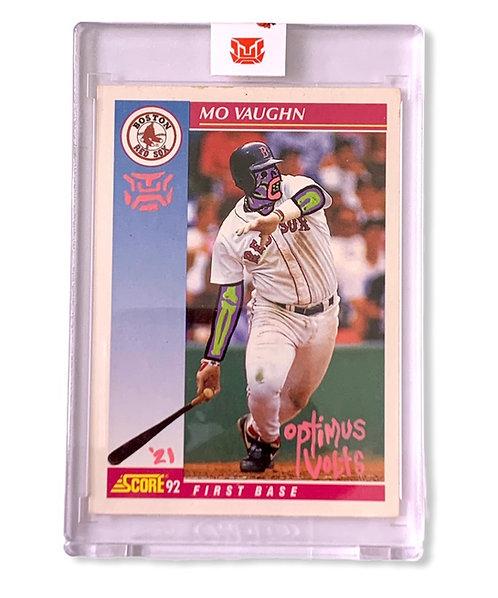 Mo Vaughn 1/1 RC 1992 score Boston Red Sox