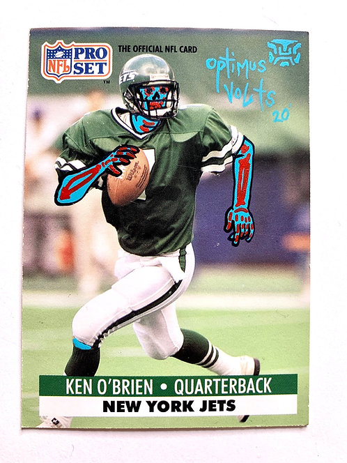 Ken O'Brien Process NFL 1991 New York Jets