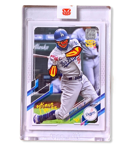 Mookie Betts 1/1 Topps 2021 Los Angeles Dodgers