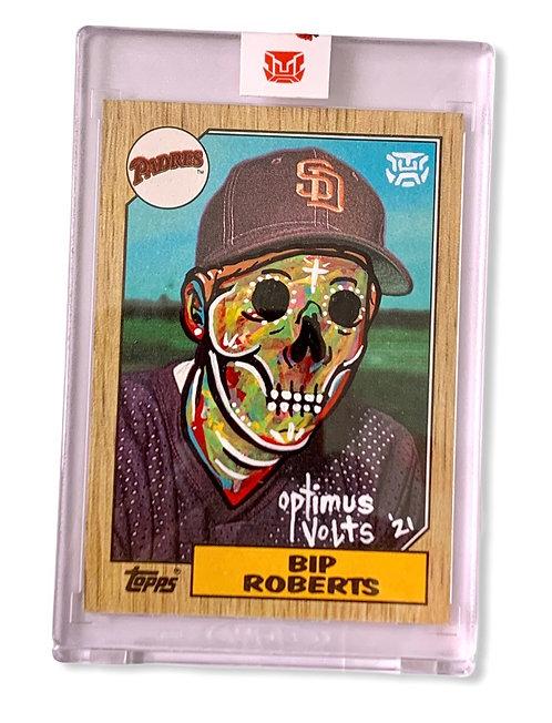 Bip Roberts RC 1/1 Topps 1987 San Diego Padres