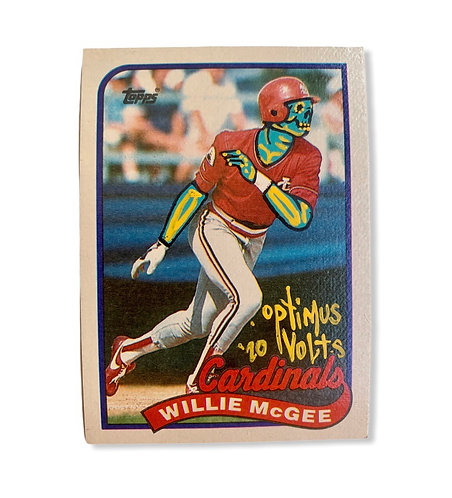 Willie MeGee Topps 1989 St. Louis Cardinals