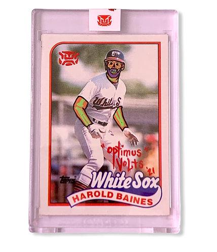 Harold Baines 1/1 Topps 1989 Chicago White Sox