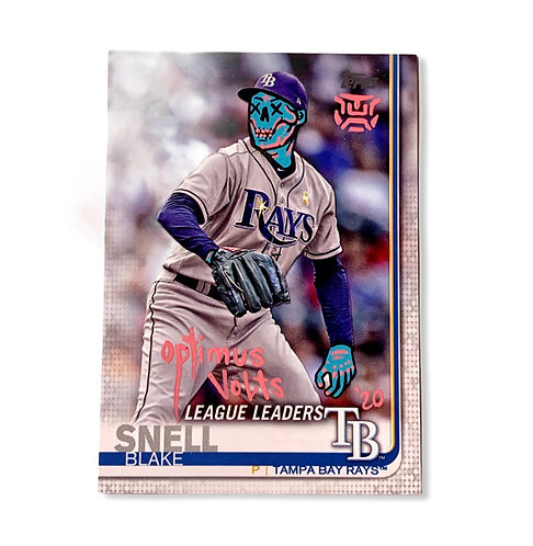 Snell Blake Topps 2019 Tampa Bay rays