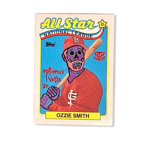 Ozzie Smith Topps 1989 St. Louis Cardinals