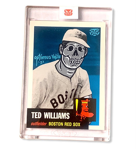 Ted Williams 1/1 Boston Red Sox
