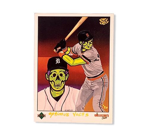 Alan Trammell upper deck 1989 Detroit Tigers