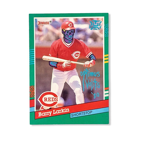 Barry Larkin Donruss 1991 Cincinnati Reds