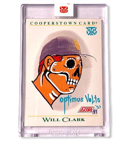Will Clark  1/1 Score 1991 Cooperstown San Francisco Giants