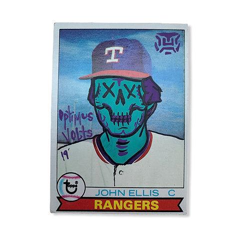 John Ellis Topps 1979 Texas Rangers