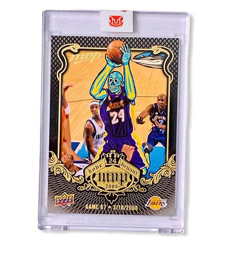 Kobe Bryant Upper deck 2008-09 MVP KB-67 Los Angeles Lakers