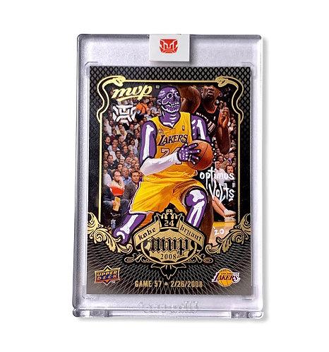 Kobe Bryant Upper deck 2008-09 MVP KB-57 Los Angeles Lakers