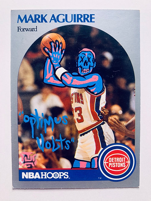 Mark Aguirre NBA hoops 1990 Detroit Pistons