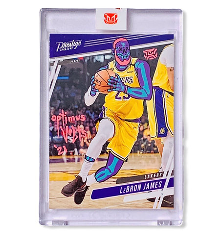 LeBron James 1/1 2020 Panini Los Angeles Lakers