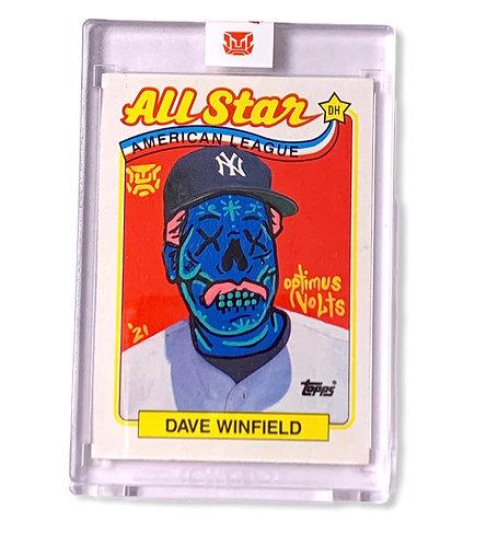 Dave Winfield 1/1 Topps 1989 New York Yankees