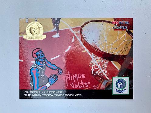 Christian Laettner NBA hoops 1994 Minnesota Timberwolves