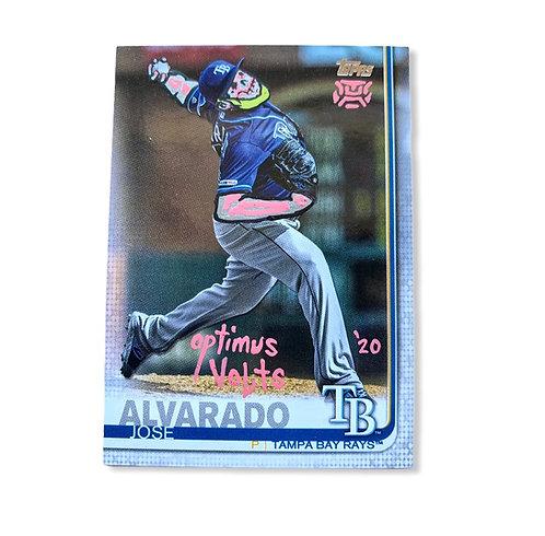 Jose Alvarado Topps 2019 Tampa Bay Rays