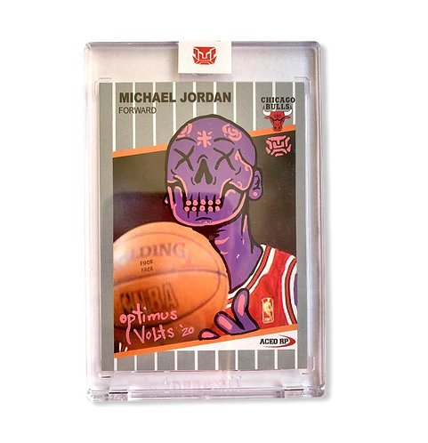 Michael Jordan Fleer 1989 ACEO card 1/1
