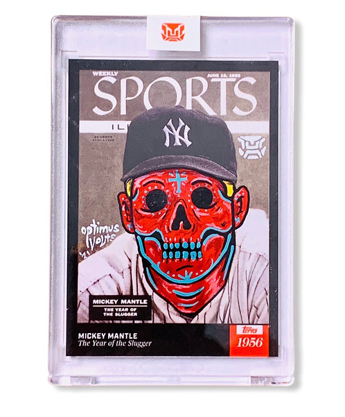 Mickey Mantle Sports Illustrated 1/1 Topps 2021 New York Yankees